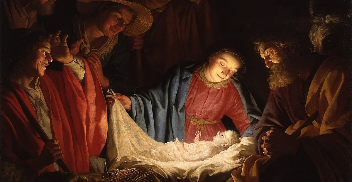 1200px Gerard van Honthorst Adoration of the Shepherds 1622